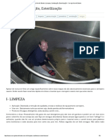 Cerveja Henrik Boden _ Limpeza, Sanitização, Esterilização • Cerveja Henrik Boden