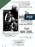 Die Lustige Witwe - F. Lehar