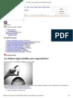 Los 30 Libros Imprescindibles Para Emprendedores _ EcoListas