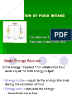 Regulation of Food Intake