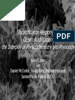 BiocalcificationResponses to Ocean Acidification