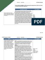 acend competency checklist