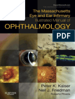 The Massachusetts Eye Illustrated Manual of Ophthalmology 4th Edition