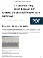 Armado de un amplificador para automóvil » Electrónica completa.pdf