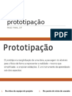 prototipação em design thinking