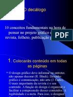 DGRJ O Decalogo 2008