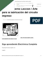 Arte para la fabricación del circuito impreso » Electrónica completa.pdf