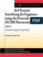 Embedded Systems Interfacing for Engineers Using Freescale HC908 Part 1 Assembly Language Programming