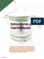 extractores comparacion