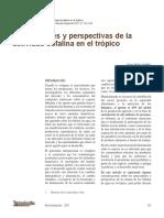 Antecedentes Y Perspectivas De La Actividad Bufalina