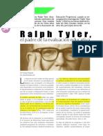 Ralph Tyler El Padre de La Evaluacion Educativa