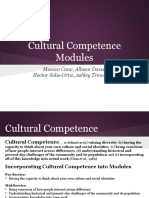 cultural competence module presentation