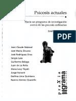 Vaschetto Emilio Comp - Psicosis Actuales