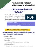 Fisica de Semiconductores - El Diodo