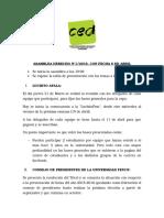 ACTA 1° ASAMBLEA (6/04)