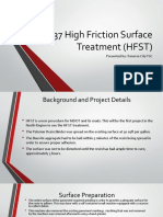 2015 - M-37 High Friction Surface Treatment (HFST)