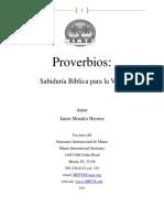 Manual del Probervios
