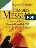 Handel's Messiah Program
