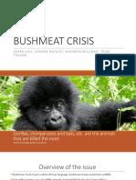 bushmeat crisis ppt pdf