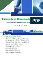 URP Sesion 3 - Gestion Del Alcance