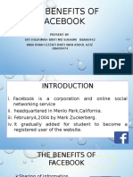The Benefits of Facebook