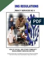 TR Pharmacy Services NC II