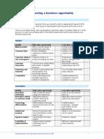 13 Business Selection Model Hexagon
