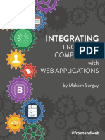 Integration Front End Components to Web App