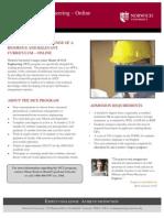 Norwich University Master of Civil Engineering APWA Overview