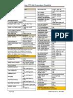 b777 200 Checklist