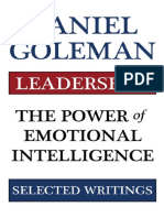 Leadership the Power of Emotional Intellegence
