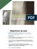4_Planeamento Estratégico Orientado Para o Mercado