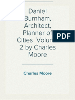 Daniel Burnham, Architect, Planner of Cities  Volume 2 by Charles Moore