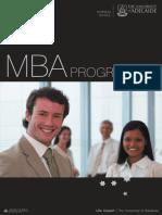 Adelaide MBA Brochure
