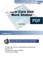 Care Unit Work Station