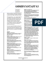 WHFB - 8.5 FAQ 1.0