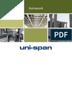 Uni Span Formwork