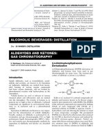 Aldehydes and Ketones - Gas Chromatography