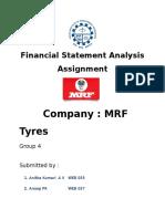 Fsa Assignment- Web - Mrf
