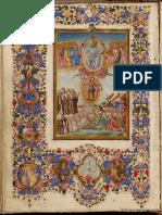 Libro de Horas Según El Uso de Roma Manuscrito 208