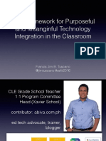 5Ds Framework for Purposeful and Meaningful Technology Integration in the Classroom