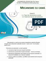Mecanisme Cu Cama CURS 1