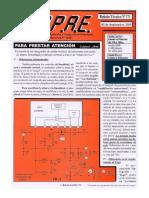 Salida Vertical Con Diferencias en Comparador Puede Perforar TRC Boletin Tecnico APAE 171