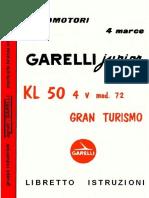 Garelli Junior50 KL50 4v 72-LI