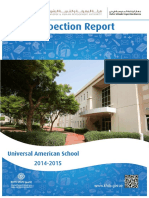 KHDA Universal American School 2014 2015