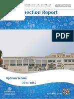 KHDA Uptown School 2014 2015