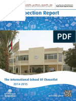 KHDA The International School of Choueifat 2014 2015
