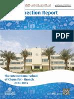 KHDA The International School of Choueifat Branch 2014 2015
