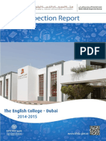 KHDA The English College Dubai 2014 2015