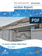 KHDA ST Mary Catholic High School Dubai 2014 2015